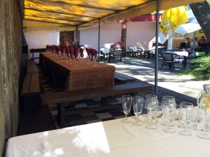 Banquet hall, festive tables in the terrace - 6