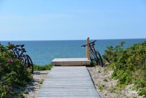 Smiltynės, Kuršių nerijos dviračių takai - 11