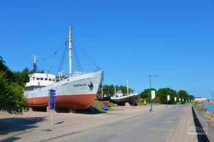 Laivų-veteranų ekspozicija - 1